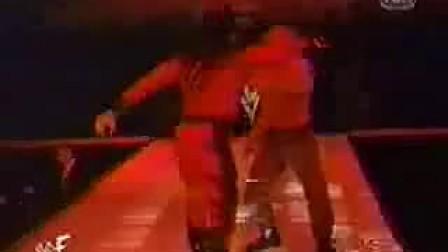WWE 送葬者拆面具!模仿KANE的真相!