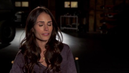 Furious 7- Jordana Brewster -Mia- Behind the Scenes Movie Interview