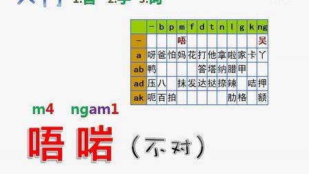 粤语学习最新最全速成秘笈