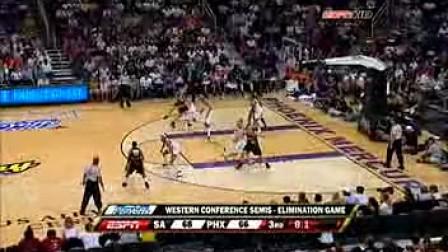2009赛季WNBA季后赛西部半决赛 菲尼克斯水星VS圣安东尼奥银星G3 下半场
