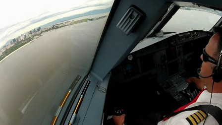 害怕坐飞机?民航飞机驾驶第一视角 SAIL 身临其境般