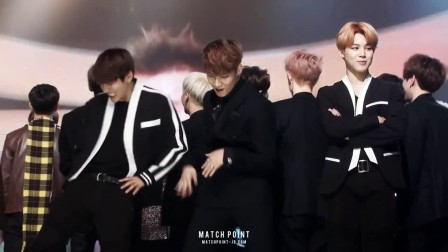 [HD FANCAM] 151231 GOT7 & BTS Reaction to JYP - Uptown Funk @ MBC Gayo Daejun 20