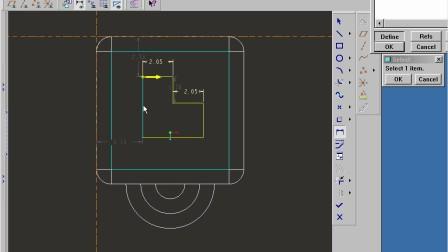 林清安proe视频教程《零件设计基础篇(下)》第一章118