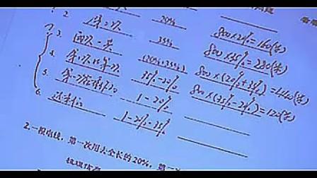 《分数应用题》孙老师山东省创新教育课堂教学观摩六年级数学优质课观摩课示范课