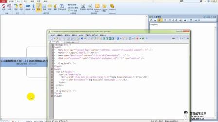 5、Wordpress主题模版开发(2)首页模版及调用options表数据