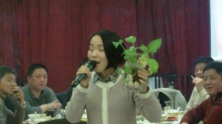 2015年迎春茶话会中的歌声