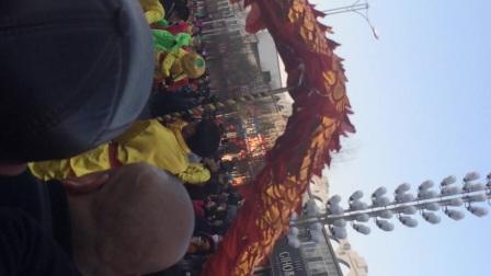 内蒙古卓资县2017年秧歌队