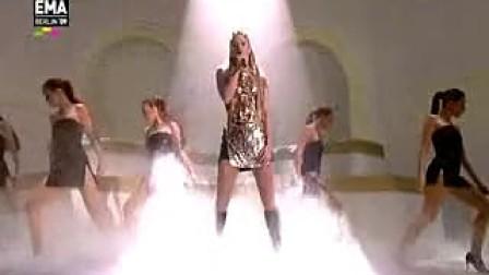 [宁博]天后回归 Shakira 全新专辑第二波主打Did It Again MTV欧洲音乐大奖现场