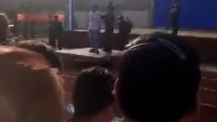 海口某广场进行宣判大会,判处贩毒运毒者死刑