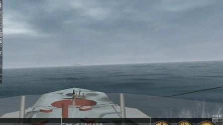 猎杀潜航3开鱼雷艇MOD击沉小型战列舰编队