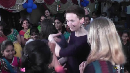 我们的印度婚礼-为新娘祈福