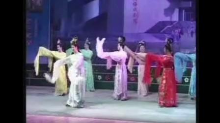 黄梅县黄梅戏老演员演驿天仙配--鹊桥