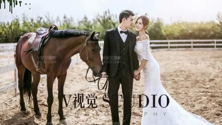北京马场婚纱照