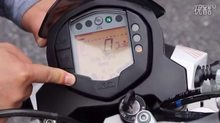 骑士网15年第6集:跑山小王子 KTM DUKE 200DUKE 390 呆子测评nf0胖哥试车 暴走汽车 38号车评中心