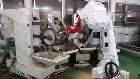 机器人铜合金龙头打磨系统