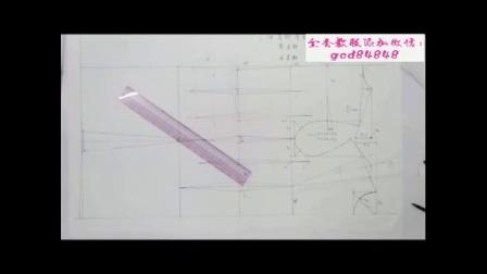 上海服装设计裁剪工艺培训视频教程b时装配袖技巧教程b服装纸样打版制版教程衬衫领子