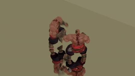 游戏人物角色动画设计与制作案例