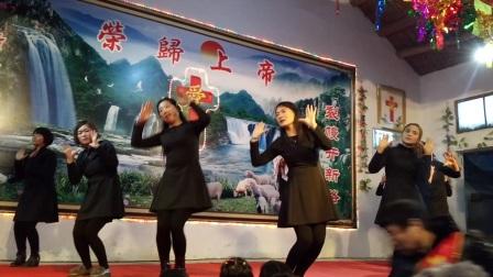 基督教舞蹈《黑与白》圣诞节