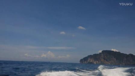 坐快艇游泰国普吉岛