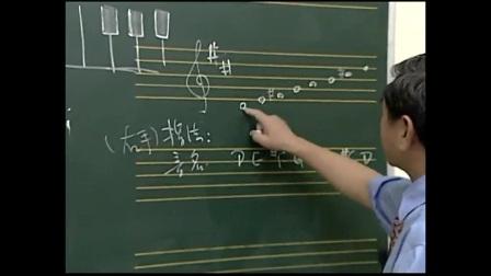 宋大叔教音乐 简谱与五线谱的弹奏21 二胡教程 怎么识谱_4fh0_2