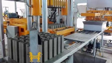 静压砖机1100吨 虎鼎双向双面加压液压制砖机 成型后可用码垛机直接码垛免托板