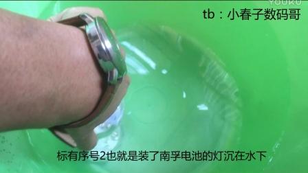 圆形七彩LED鱼缸灯潜水灯圣诞灯万圣节南瓜灯