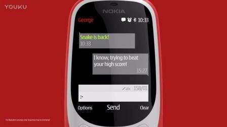 诺基亚-Nokia 3310 新广告