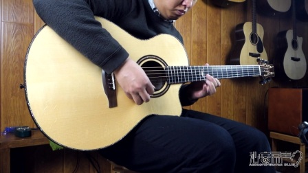 Prs private stock 手工吉他评测试听 沁音原声