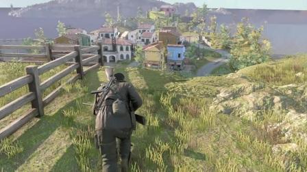 PS4 狙击精英4 真实难度 潜行攻略解说-1