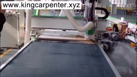 CNC router MDF board cabinet production line