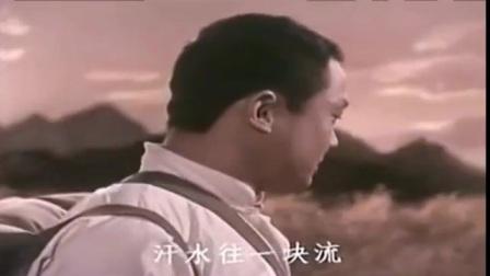 电影《艳阳天》插曲:01迎来丰收心欢畅
