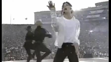迈克尔杰克逊-1993年至今让美国5位总统都震撼的超级碗表演现场_标清