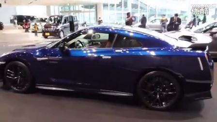 2017内外实拍全新日产尼桑战神R35 GT-R 极光耀斑珍珠蓝 NISSAN_汽车报价20167