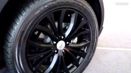 陆风X7配255的轮胎是不是太宽了?比路虎极光原装的还宽!38号车评中心汽车之家Y车评新车评网暴走汽车驾驭e