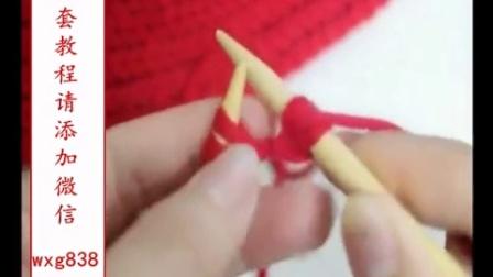 平针围巾如何收针图解围巾平针收针方法最简单的围巾收针
