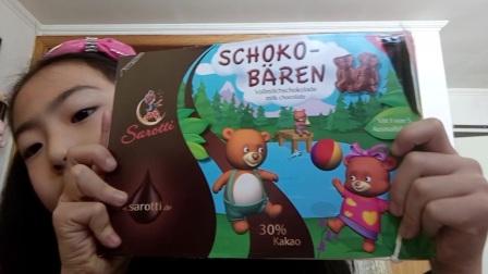小熊巧克力品尝