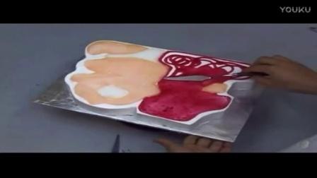 奶油蛋糕裱花新手视频教程西点