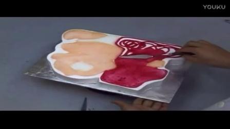 蛋糕裱花的手法技术技巧西点军校校训