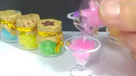 [15]水舞珠珠 DIY制作 星空瓶彩虹瓶 果冻星云瓶 海洋瓶 水晶泥许愿瓶-机器人
