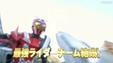 【XK小恺上传】假面骑士x超级战队 超级英雄大战 TVCM6[最强骑士篇】