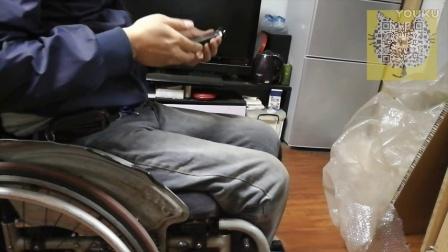 【轮椅评测】威之群运动轮椅 开箱 组装