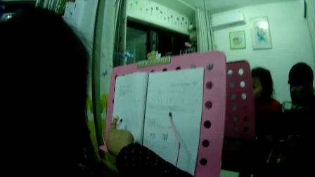 0089集.爸爸和女儿一起学习古筝视频日记!