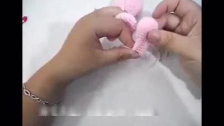 钩针编织玩偶饭团兔教程
