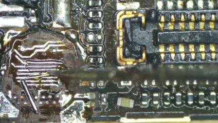 风枪快速飞线   杨长顺手机维修培训中心  13771977567  苹果专业级维修
