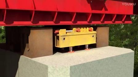 步履式顶推技术—钢桁梁载荷分配梁承载顶推工艺