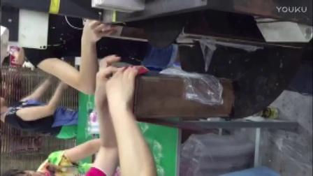 一鼎印机pet透明盒三面透明酒盒成型机