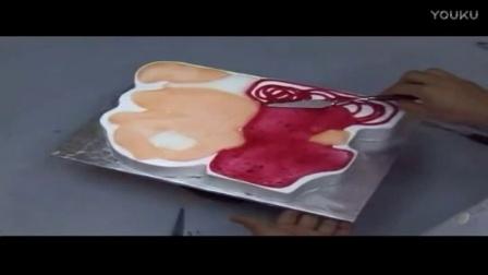 韩式裱花蛋糕花环!面包的做法大全