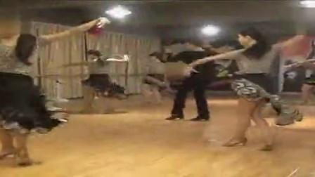 拉丁舞-恰恰基本步练习