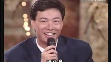 青涩歌神张学友和小哥费玉清合唱《偏偏喜欢你》