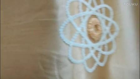 11浅咖遮光绣花鸟巢窗帘布南宁窗帘工程设计